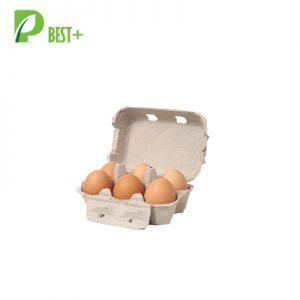 Paper Pulp 6 Eggs Cartons grey 158