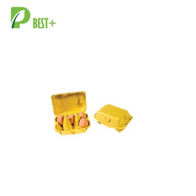 Friendly Yellow 6 Eggs Box 194
