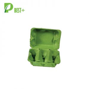 6 Cells Green Eggs Pulp Boxes 216