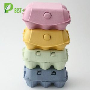 colorful egg boxes