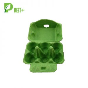 pulp green egg pack production