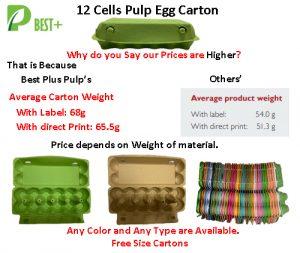 Cheap Price Egg Cartons