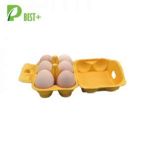 Yellow Eco Egg Boxes