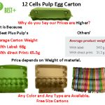 Cheap Price Egg Cartons