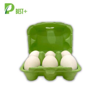 Green 6 Holes Egg Cartons 275